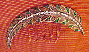 Art Deco hair comb (Image1)