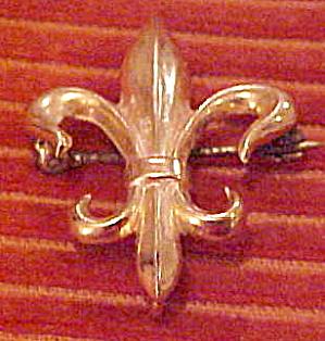 Fleur De Lis watch pin (Image1)