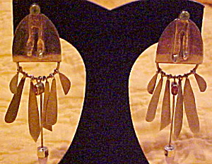 Artist Made new age earrings (Image1)
