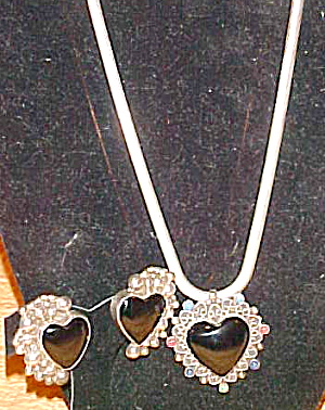 Carsi Sterling necklace and earring (Image1)