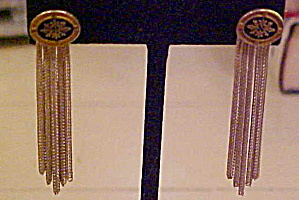 Sterling fringe style earrings (Image1)