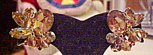 Kramer rhinestone and bead earrings (Image1)