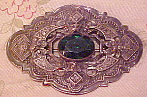 Art Nouveau sash pin Book Piece (Image1)