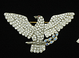 American Eagle pin - Book Piece (Image1)