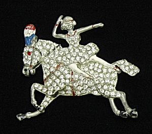 Bareback Circus rider pin-Book Piece (Image1)
