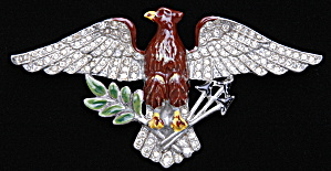 American Eagle brooch - Book Piece (Image1)