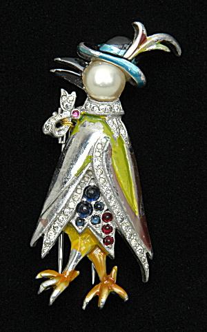 Duck in hat fur clip-Book Piece (Image1)