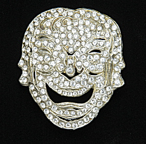 AJ Laughing Face pin (Image1)