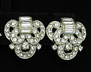 Art Deco Earrings - Book Piece (Image1)