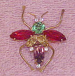 Corocraft Sterling Bug Pin (Image1)