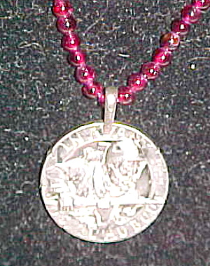French coin pendant (Image1)