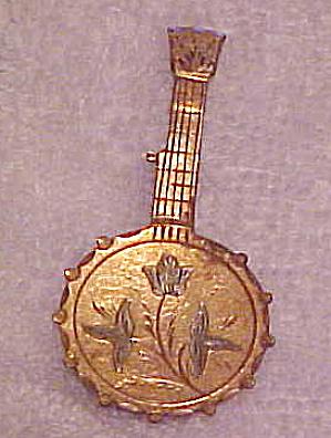 Victorian Mandolin pin (Image1)