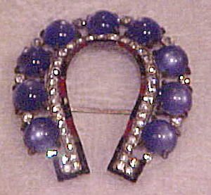 1930s horseshoe brooch (Image1)