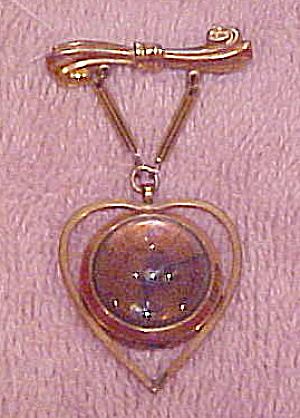 Croton heart shaped watch pin (Image1)