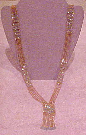 Art Deco 1920s beaded necklace (Image1)