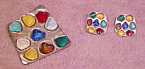 Norway enamel sterling pin set (Image1)