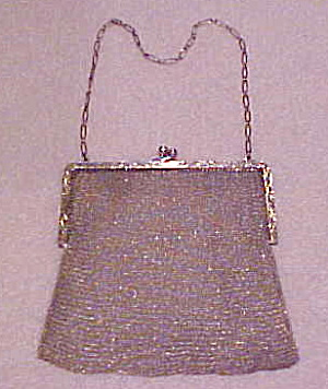 Whiting & Davis Sterling Purse (Image1)