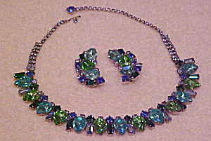Blue and green rhinestone set (Image1)