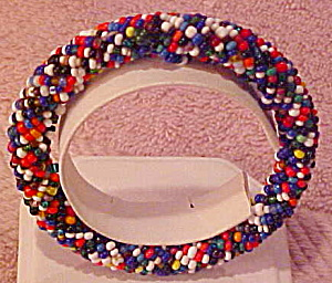 Contemporary beaded bangle (Image1)