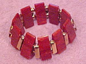 Bakelite stretch bracelet (Image1)