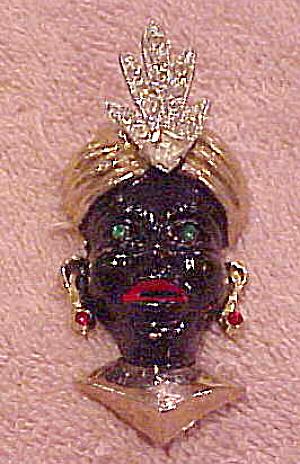 Blackamoor pin (Image1)