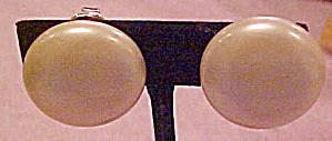 Trifari faux pearl earrings (Image1)