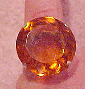 Regina Sterling ring with Topaz glass (Image1)