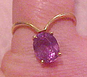 14k ring with amethyst (Image1)