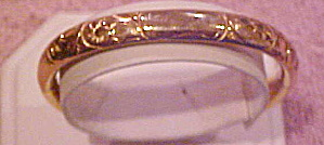 AC Co. gold filled bangle (Image1)