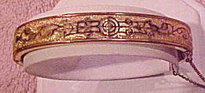 H & B gold filled bangle (Image1)
