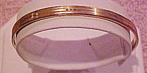 Victorian gold filled bangle (Image1)