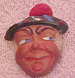 Irish man in hat wood pin (Image1)