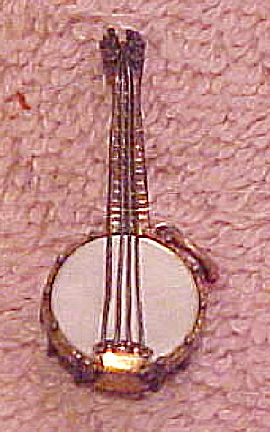 Gold filled mandolin charm (Image1)