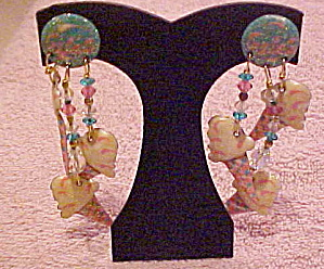 Lunch at the Ritz earrings 1986 (Image1)