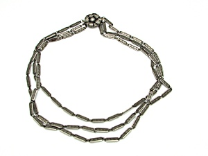 Industrialist Tri Chain Necklace (Image1)