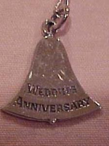 Necklace w/wedding anniversary bell pendant (Image1)