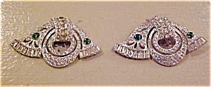 Pair of art deco dress clips (Image1)
