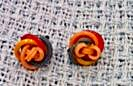 Celluloid Loop design earrings (Image1)