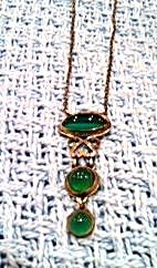 Sterling Arts and Crafts Necklace (Image1)