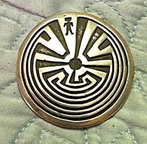 Hopi Inlaid Pendant (Image1)