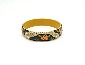 Hand Painted Celluloid Bangle