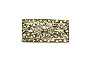 Art Deco Geometric Design Brooch (Image1)