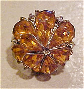 Topaz rhinestone ring (Image1)