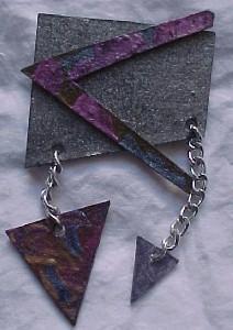 Artist made pin (Image1)