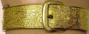 Victorian revival buckle bangle (Image1)