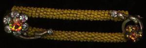 Sead bead and rhinestone bar pin (Image1)