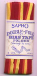 Sapho double fold bias tape in original package