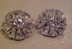 Click to view larger image of Wingback rhinestone earrings (Image1)