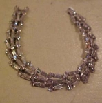 Trifari retro rhinestone bracelet