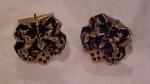 Handsom figural cufflinks with horses